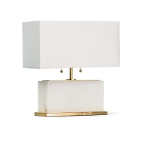 Regina Andrew Ali Alabaster Table Lamp