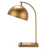 Otto Desk Lamp Natural Brass | Regina Andrew