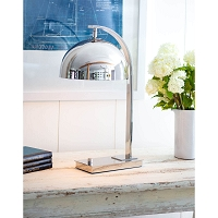 Otto Desk Lamp Polished Nickel | Regina Andrew
