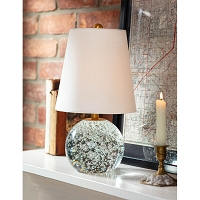Bulle Crystal Mini Lamp | Regina Andrew