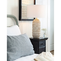 Carmel Wood Table Lamp | Coastal Living