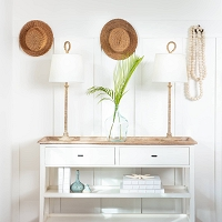 Bimini Buffet Lamp | Coastal Living