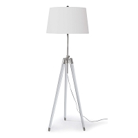 Regina Andrew Brigitte Floor Lamp Polished Nickel