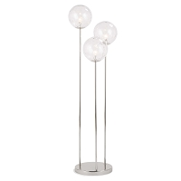 Regina Andrew Rio Triple Floor Lamp Polished Nickel