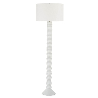 Regina Andrew Nabu Metal Floor Lamp White