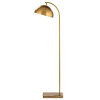 Otto Floor Lamp Natural Brass | Regina Andrew