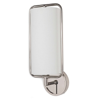 Regina Andrew Geo Rectangle Sconce Polished Nickel