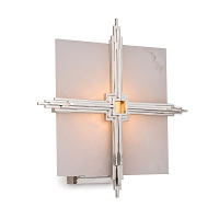 Regina Andrew Gotham Sconce in Polished Nickel