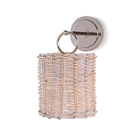 Regina Andrew Nantucket Sconce Polished Nickel