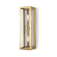 Regina Andrew Ritz Sconce Natural Brass