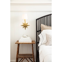 Etoile Sconce Natural Brass | Regina Andrew