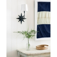 Etoile Sconce in Oil Rubbed Bronze | Coastal Living