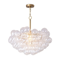 Regina Andrew Bubbles Chandelier Natural Brass