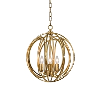 Ofelia Pendant Medium Gold Leaf | Regina Andrew