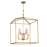 Regina Andrew Cape Lantern Antique Gold Leaf