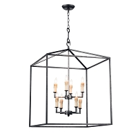 Regina Andrew Cape Lantern Blackened Iron