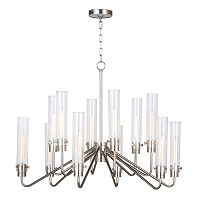 Neo Chandelier Large Polished Nickel | Regina Andrew