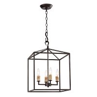 Regina Andrew Cape Lantern Small Black Iron
