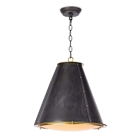 French Maid Chandelier Small Black  | Regina Andrew
