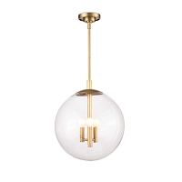 Cafe Pendant Small Brass | Regina Andrew