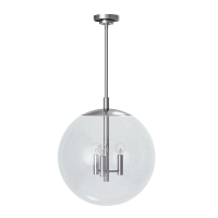 Cafe Pendant Medium in Polished Nickel | Coastal Living