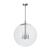 Cafe Pendant Large in Polished Nickel | Coastal Living