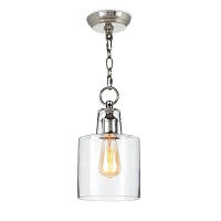 Dutch Glass Pendant Polished Nickel | Regina Andrew