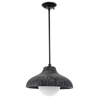 Surfside Wood Pendant in Ebony | Coastal Living