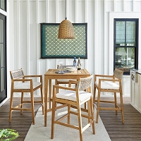Beehive Outdoor Pendant Small in Natural | Coastal Living