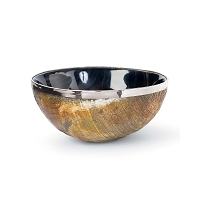 Polished Horn And Brass Bowl | Regina Andrew