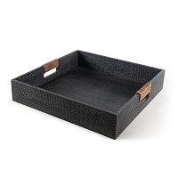Regina Andrew Logia Square Tray Large Grey