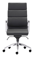 Engineer High Back Office Chair in Black | Zuo