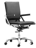 Lider Plus Office Chair in Black | Zuo
