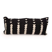 Nomad Pillow Rectangle Black | Regina Andrew