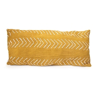 Nomad Pillow Rectangle Yellow | Regina Andrew