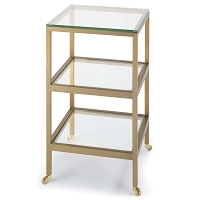 Alister Side Table Brass | Regina Andrew