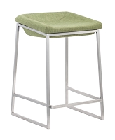 Lids Counter Stool in Green set of 2 | Zuo