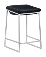 Lids Counter Stool in Dark Gray set of 2 | Zuo