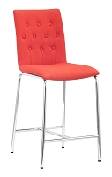 Uppsala Counter Chair in Tangerine set of 2 | Zuo