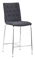 Uppsala Counter Chair in Graphite set of 2 | Zuo