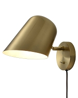 Culver Wall Sconce Brushed Brass | Nova