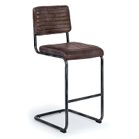 Dylan Bar Stool Distressed Whiskey | Regina Andrew