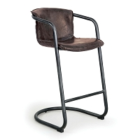Axl Bar Stool Set of 2 Distressed Whiskey | Regina Andrew