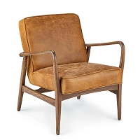 Regina Andrew Surrey Leather Chair