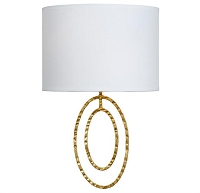 Layla 2-Light Antique Gold Sconce | Crystorama