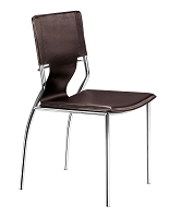Trafico Dining Chair in Espresso set of 4 | Zuo