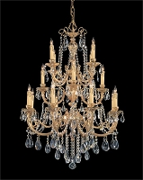Etta 16-Light Clear Spectra Crystal Chandelier | Crystorama