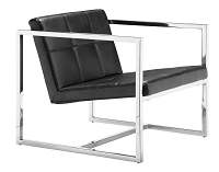 Carbon Occasional Chair in Black | Zuo