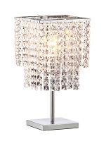 Falling Stars Table Lamp in Chrome | Zuo