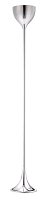 Neutrino Floor Lamp in Chrome | Zuo